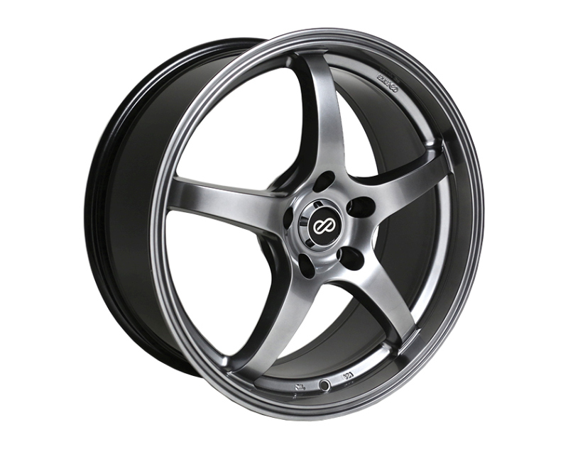 Enkei VR5 Wheel Performance Series Hyper Black 15x6.5 4x100 38mm