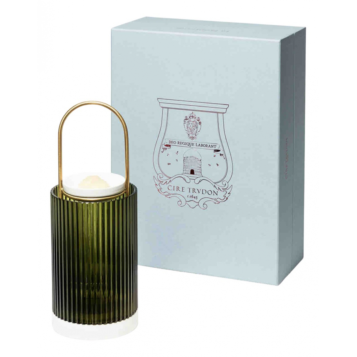 Cire Trudon \N Accessoires und Dekoration in  Gruen Glas