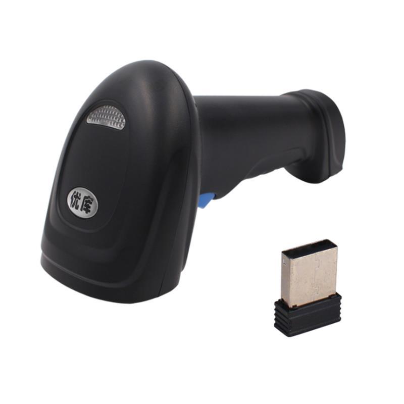 YOKO WM3 2D/QR/1D Wireless bluetooth Barcode Scanner Multi-Language CMOS Scanner USB Interface High Speed 230Times/secon