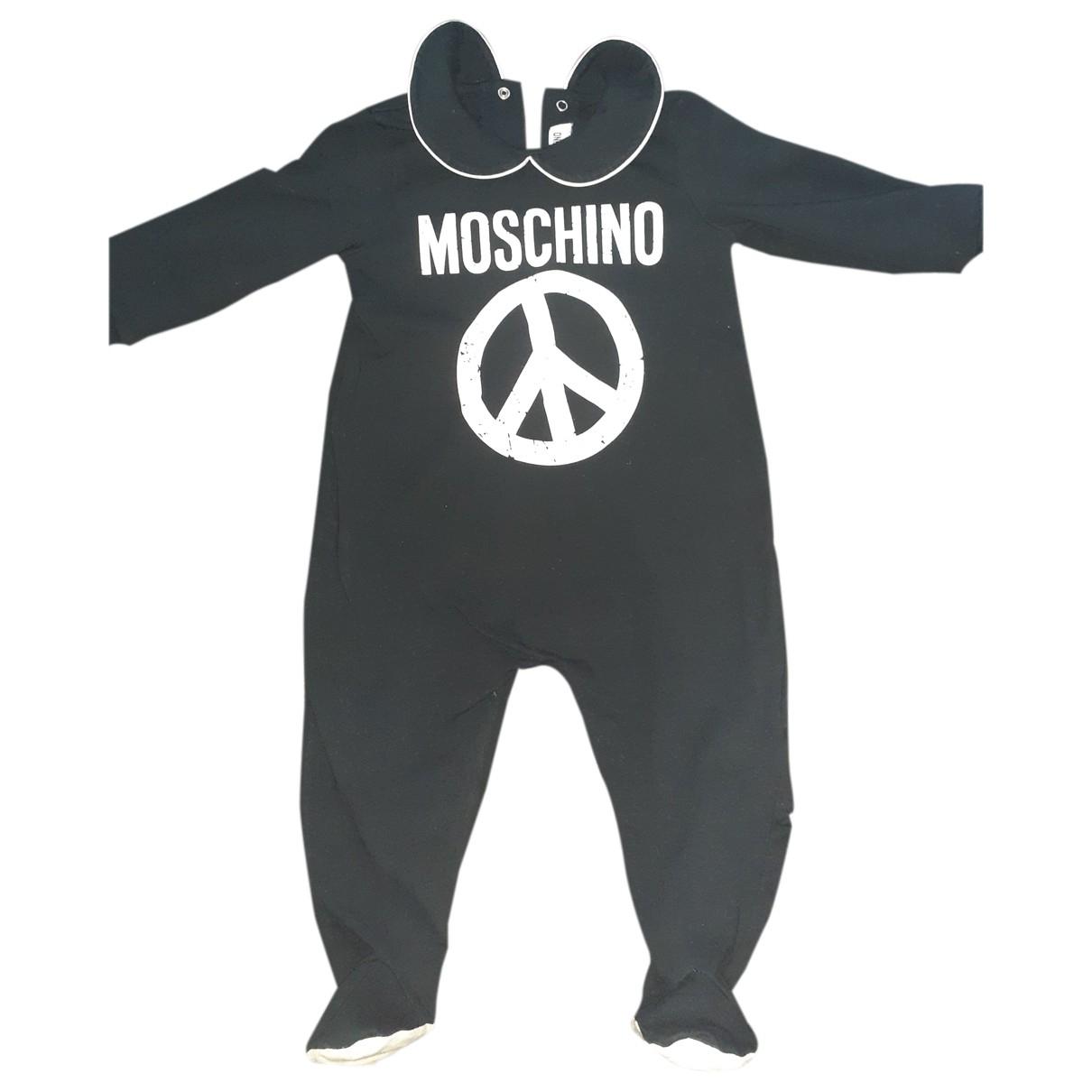 Moschino - Les ensembles   pour enfant en coton - noir
