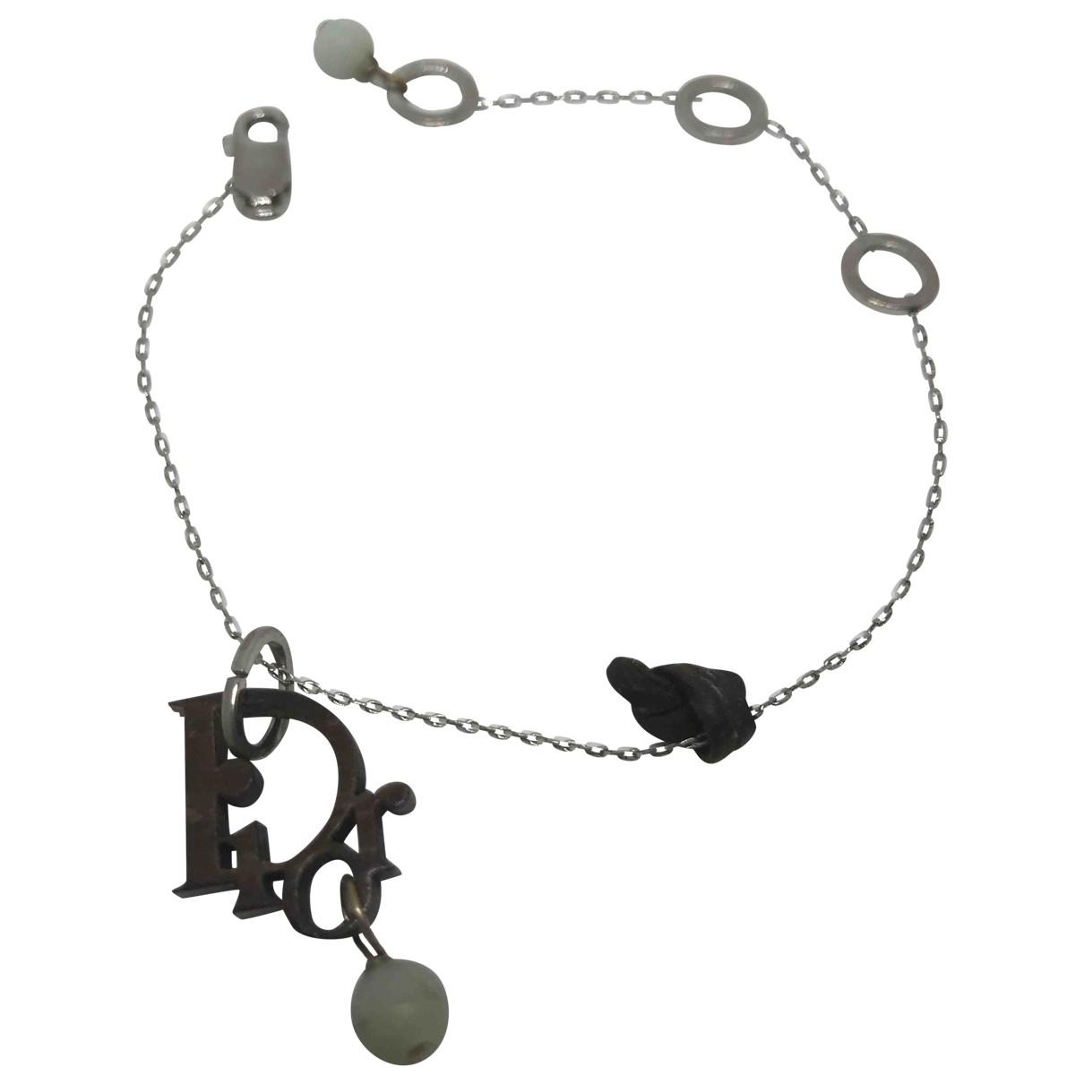 Dior - Bracelet Dior Oblique pour femme en acier - argente