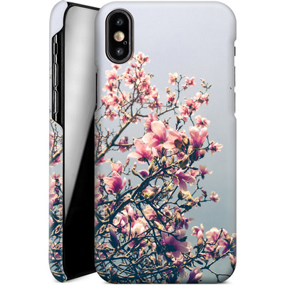 Apple iPhone XS Smartphone Huelle - She Bloomed Everywhere She Went von Joy StClaire