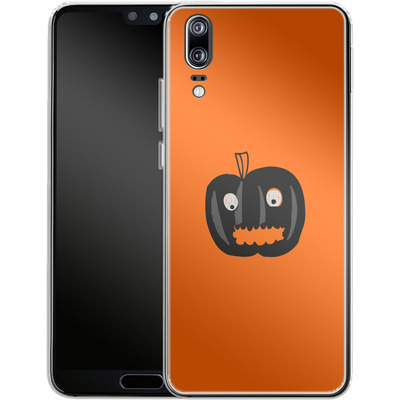 Huawei P20 Silikon Handyhuelle - Pumpkin Monster von caseable Designs