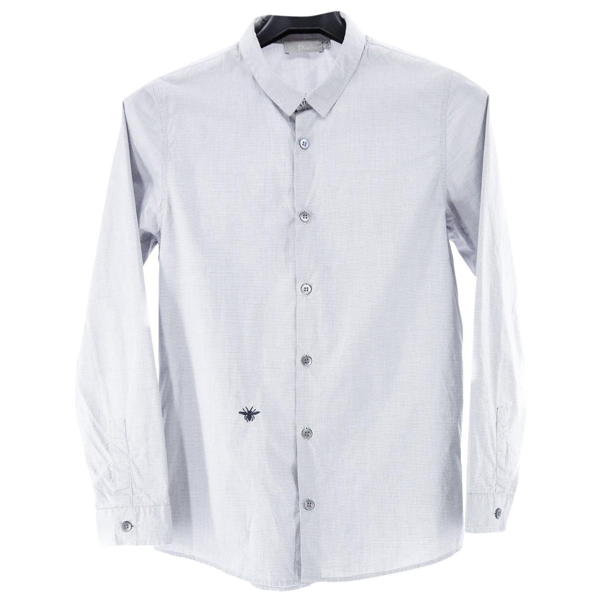 Dior \N Oberteile in  Grau Baumwolle