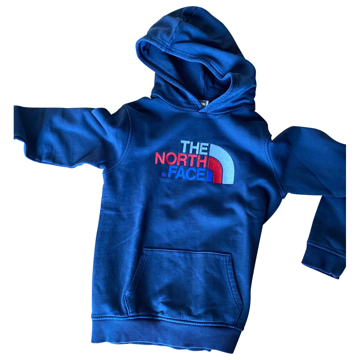 The North Face \N Pullover.Westen.Sweatshirts  in  Blau Baumwolle