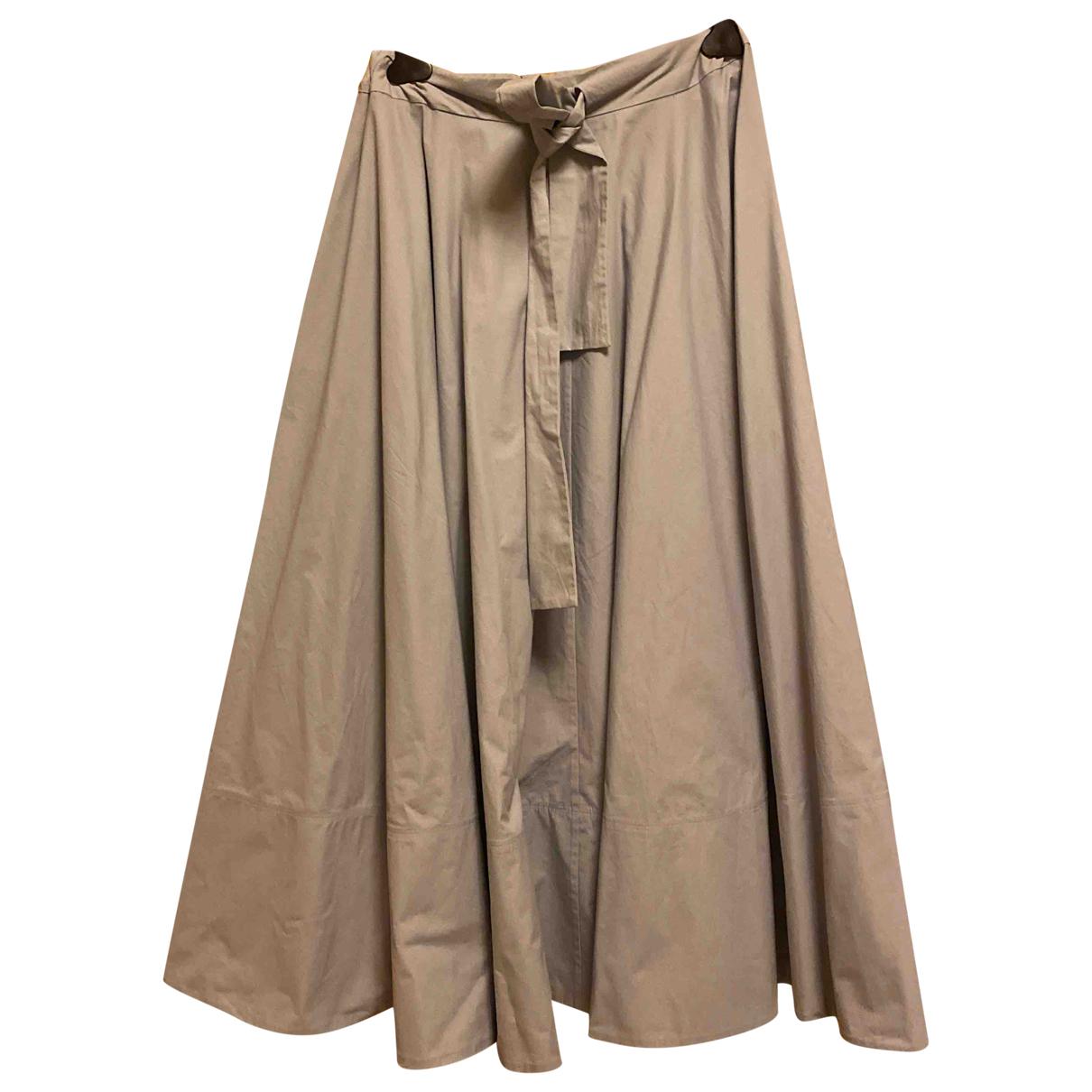 Co N Blue Cotton skirt for Women XS International