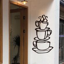 Kaffee drucken Wandaufkleber