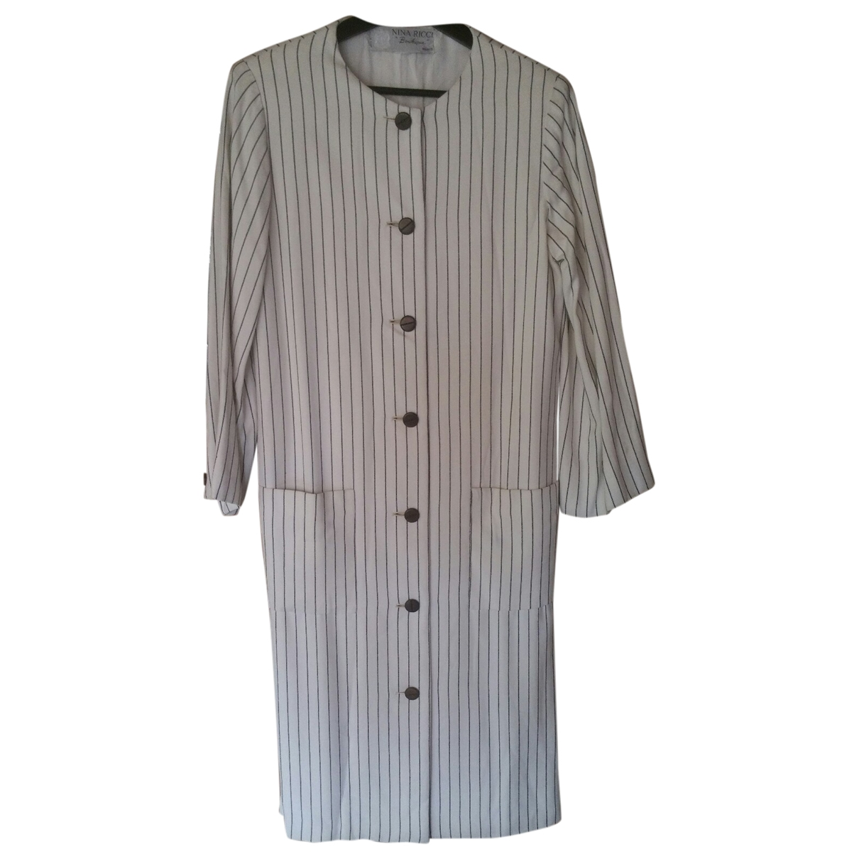 Nina Ricci \N White Cotton dress for Women M International