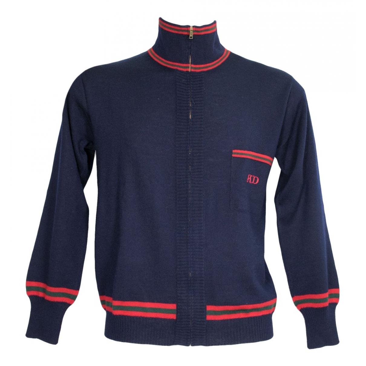 Givenchy - Pulls.Gilets.Sweats   pour homme en laine - bleu