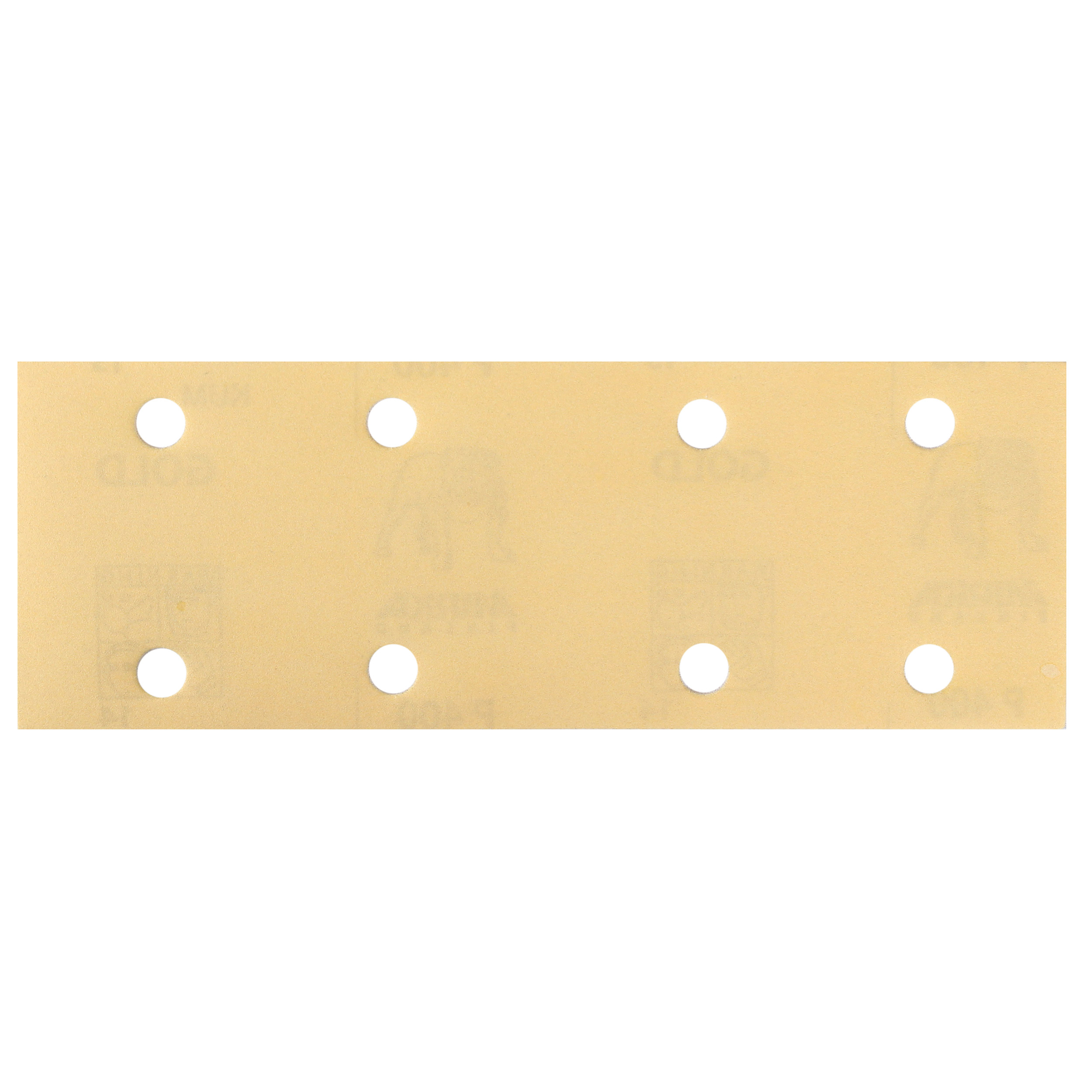 "Q.SILVER ACE 2.75x8"" Grip Sandpaper, 8H P80, 50 Sheets/Box"
