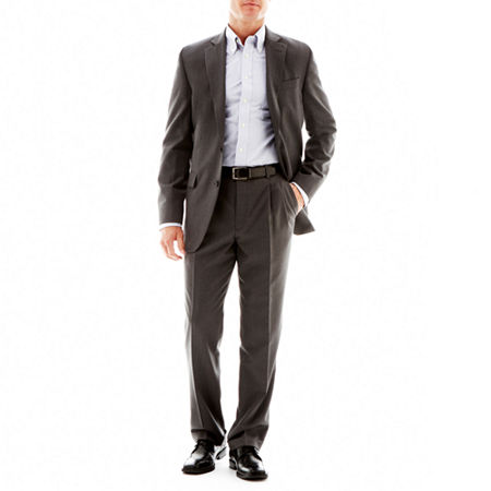 Stafford Travel Suit Jacket - Classic, 40 Short, Gray