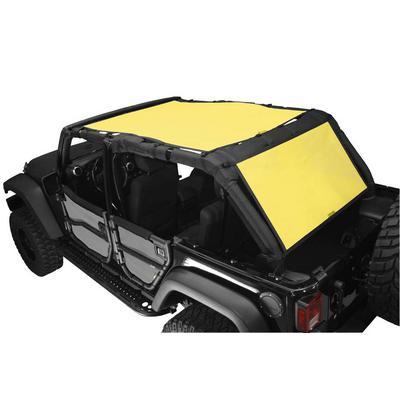 DirtyDog 4x4 Safari Sun Screen with Cargo Coverage (Yellow) - J4SS07SCYL