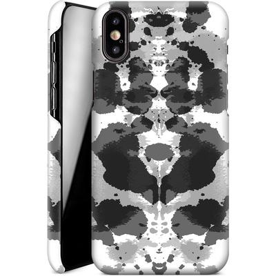 Apple iPhone XS Smartphone Huelle - Mind Games Black von caseable Designs