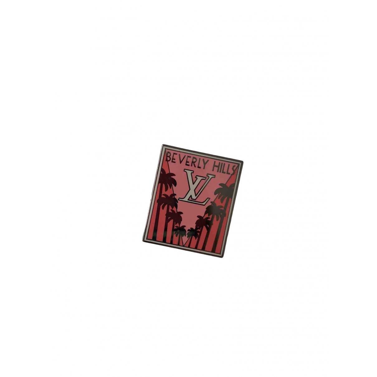 Louis Vuitton \N Brosche in  Rosa Metall