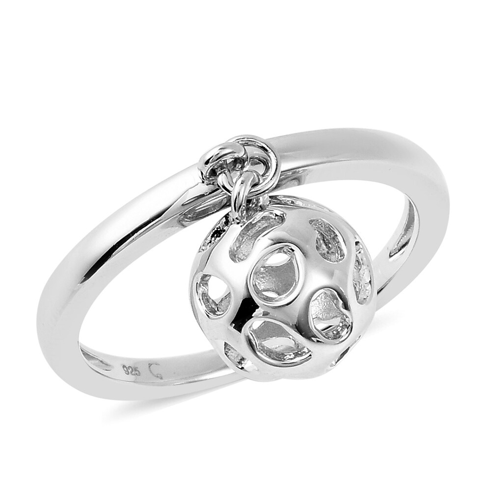 925 Sterling Silver Ring Size 6 - Ring 6 (White - Ring 6 - White)