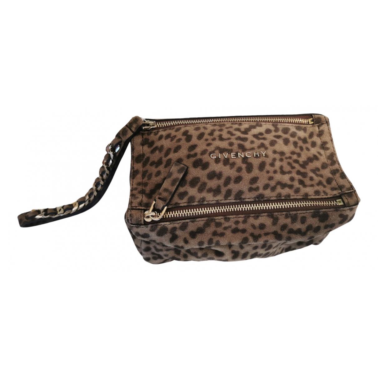 Givenchy - Petite maroquinerie   pour femme en cuir - marron