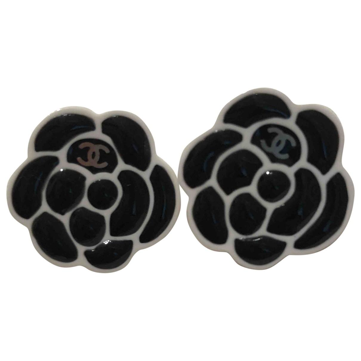 Chanel - Boucles doreilles   pour femme - noir