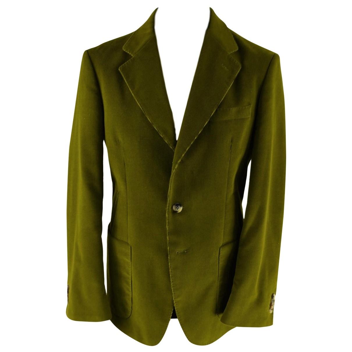 Carolina Herrera - Vestes.Blousons   pour homme en coton - vert