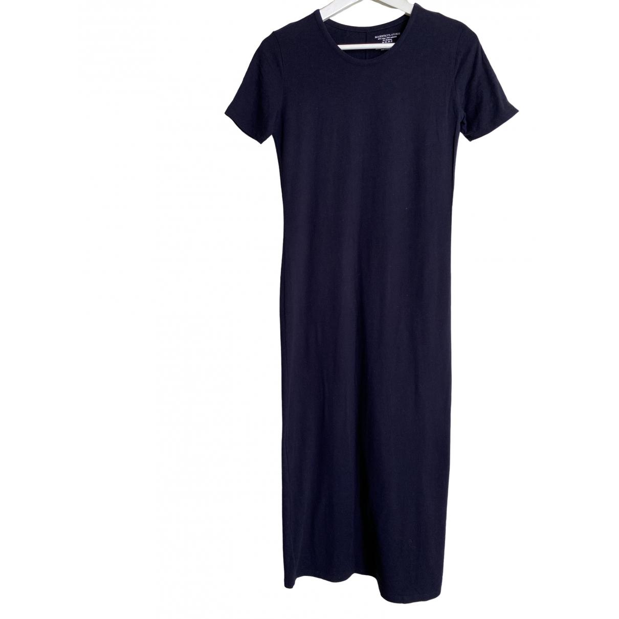 Majestic Filatures \N Kleid in  Blau Baumwolle