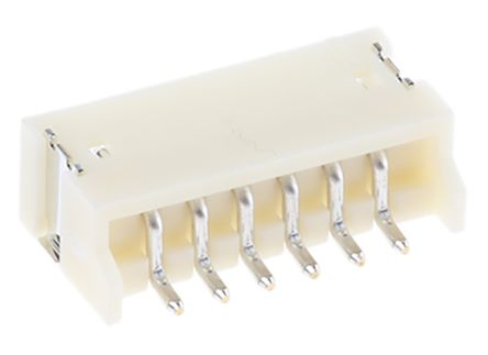 JST , ZH, 6 Way, 1 Row, Side Entry PCB Header (10)