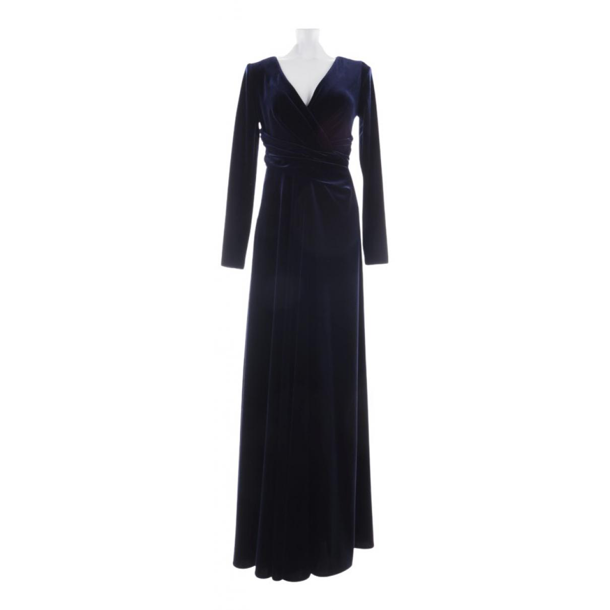 Talbot Runhof - Robe   pour femme - bleu