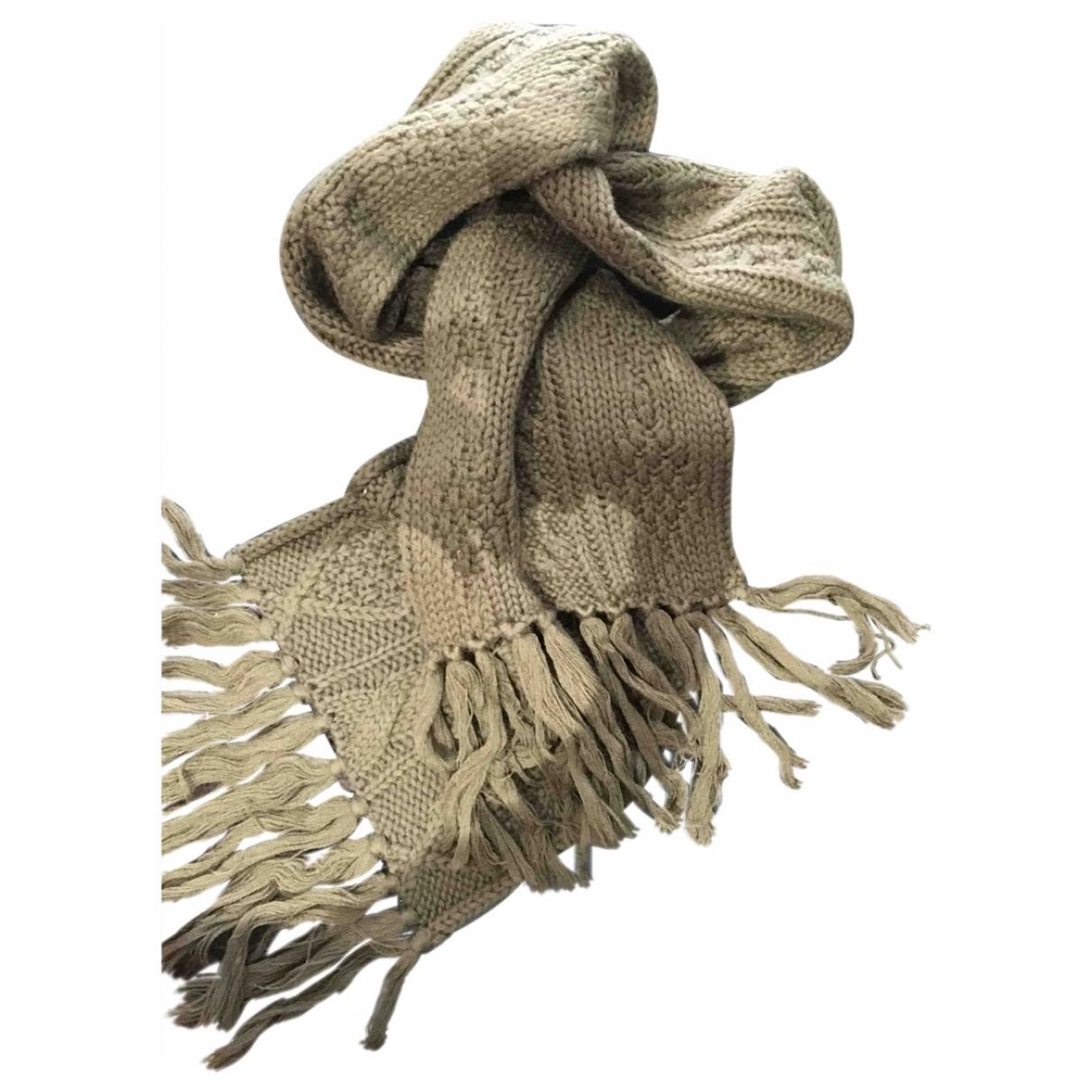 Gerard Darel - Foulard   pour femme en laine - kaki