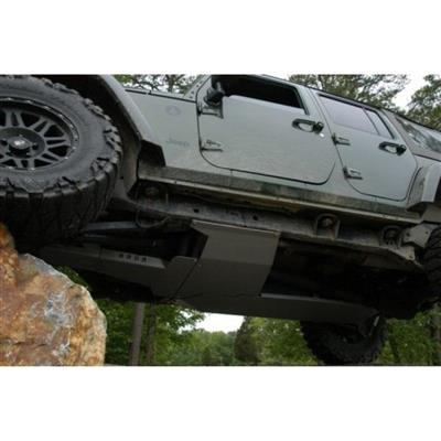 Hauk Offroad Complete Skid Plate System - ARM-1090-4DUH
