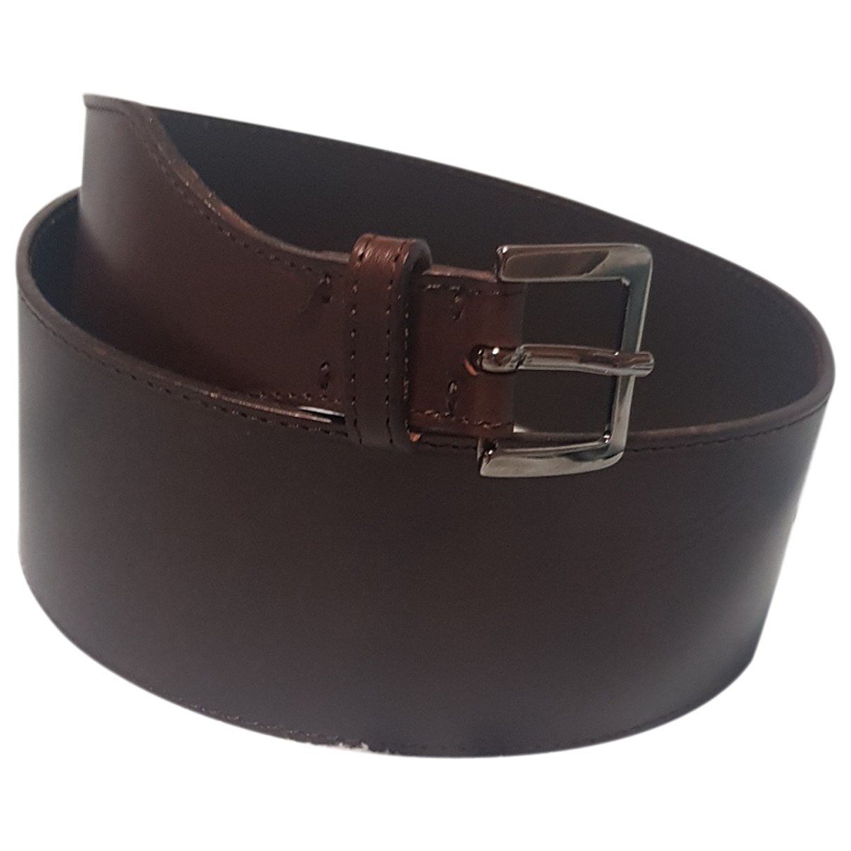 Stefanel N Brown Leather belt for Women L International