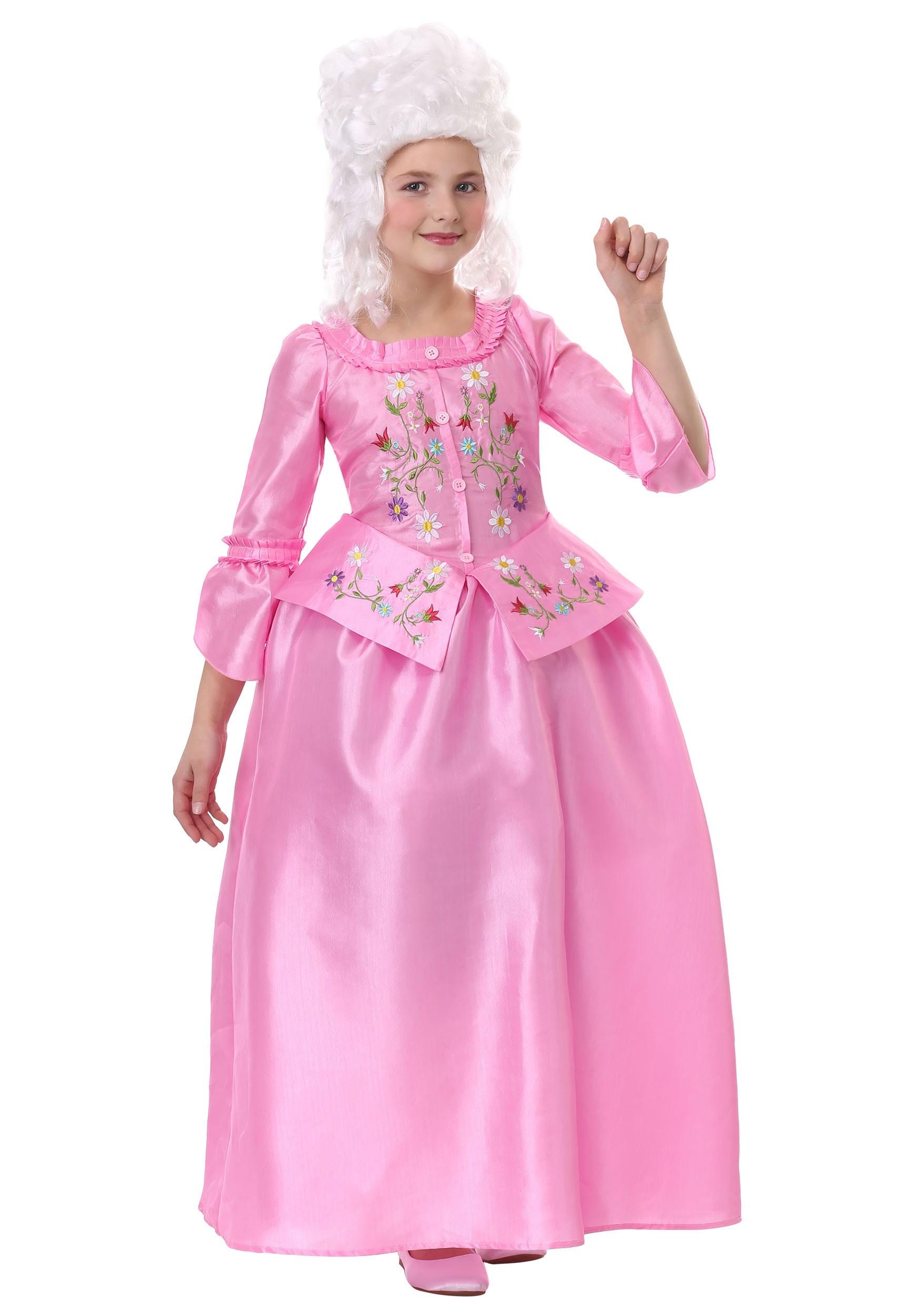 Marie Antoinette Costume for Girls