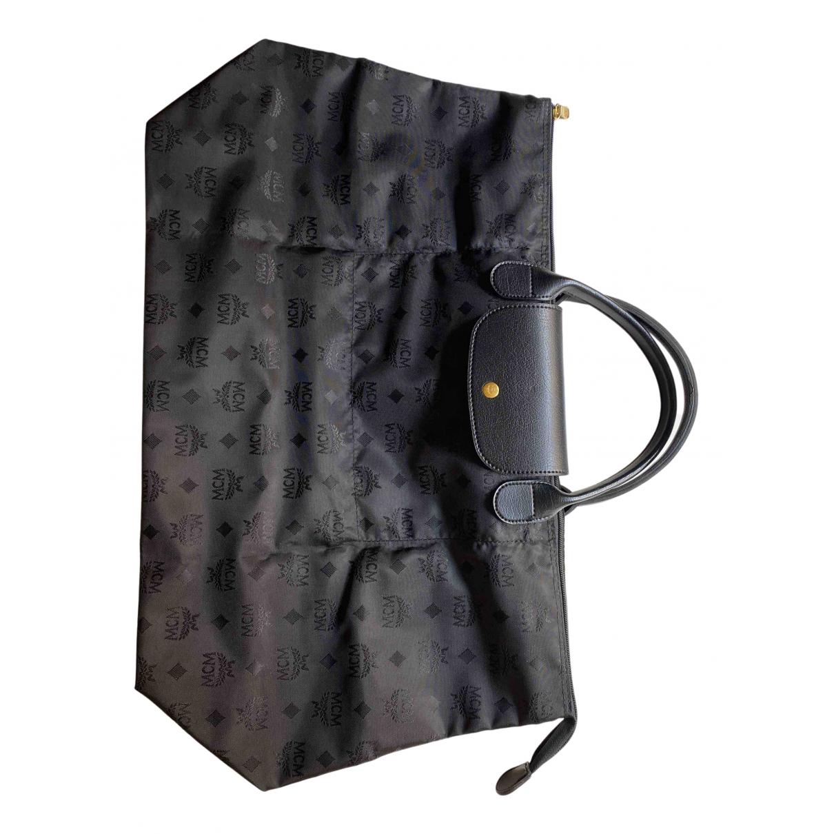 Mcm Anya Black Travel bag for Women N