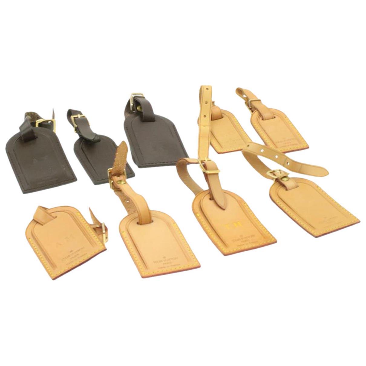 Louis Vuitton - Bijoux de sac   pour femme en cuir - marron