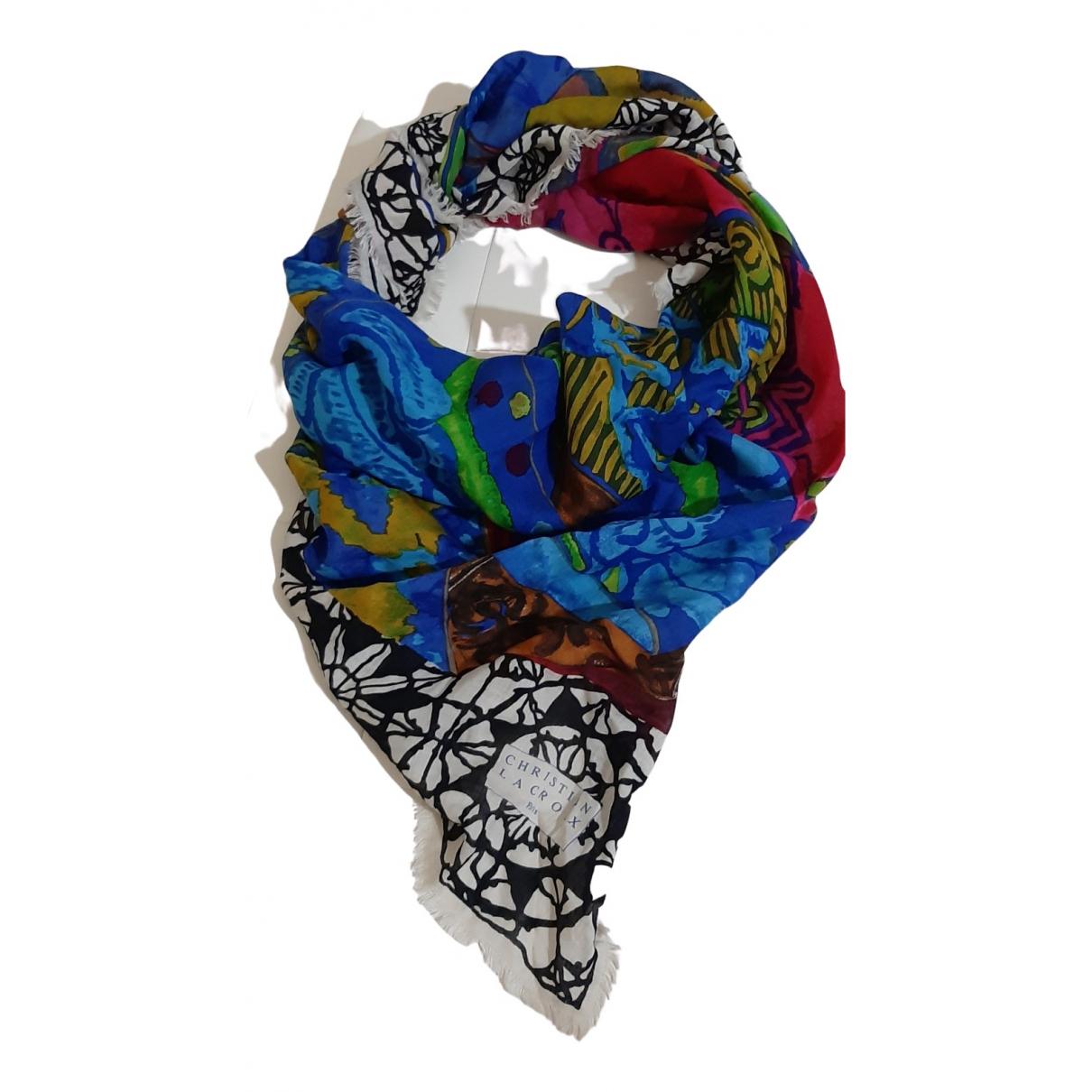 Christian Lacroix - Carre   pour femme en laine - multicolore