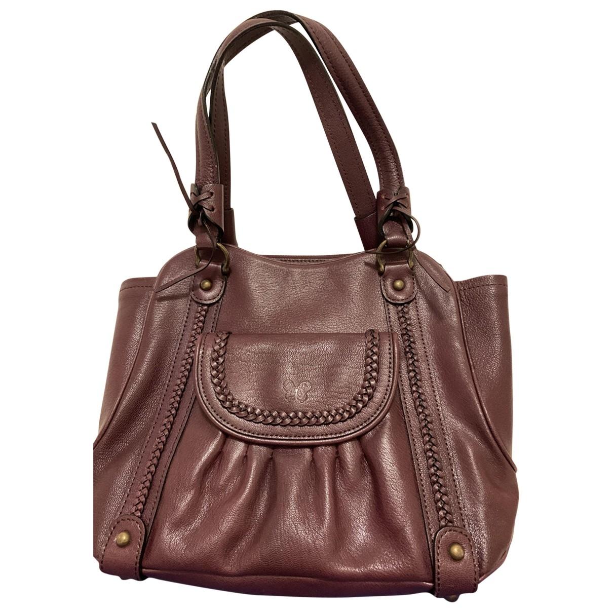 Anna Sui \N Leather handbag for Women \N