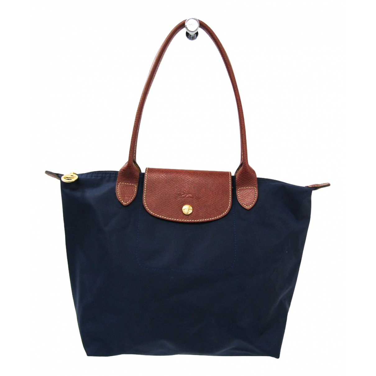 Longchamp Pliage  Brown Cloth handbag for Women N