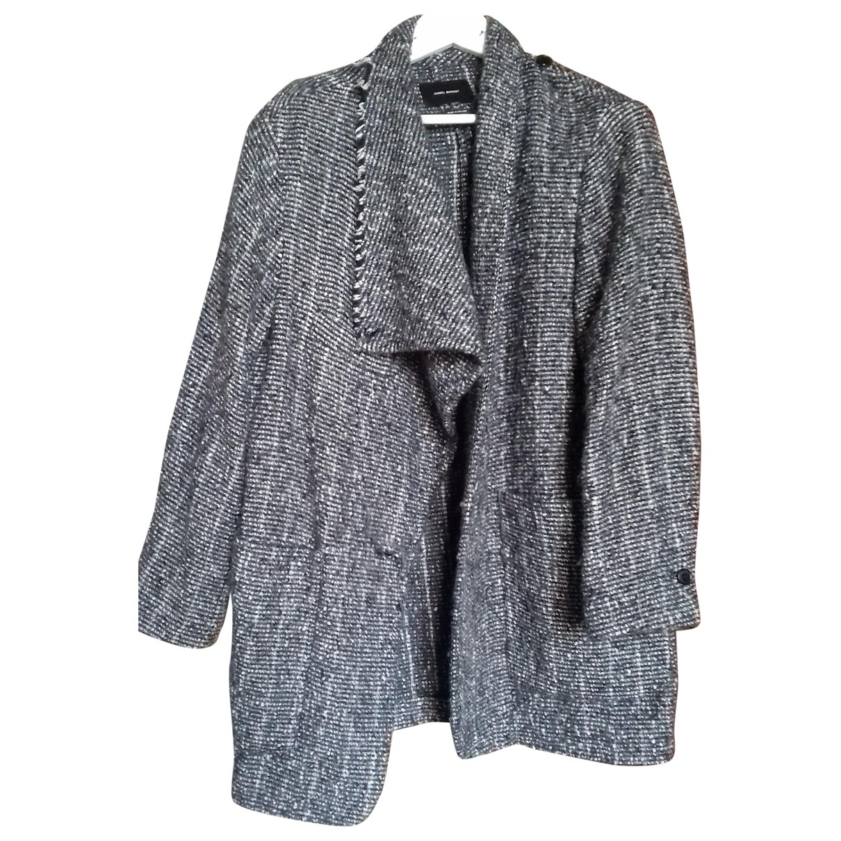 Isabel Marant \N Grey Wool coat for Women 36 FR