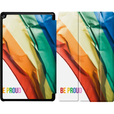 Amazon Fire HD 10 (2017) Tablet Smart Case - Rainbow Flag  von caseable Designs