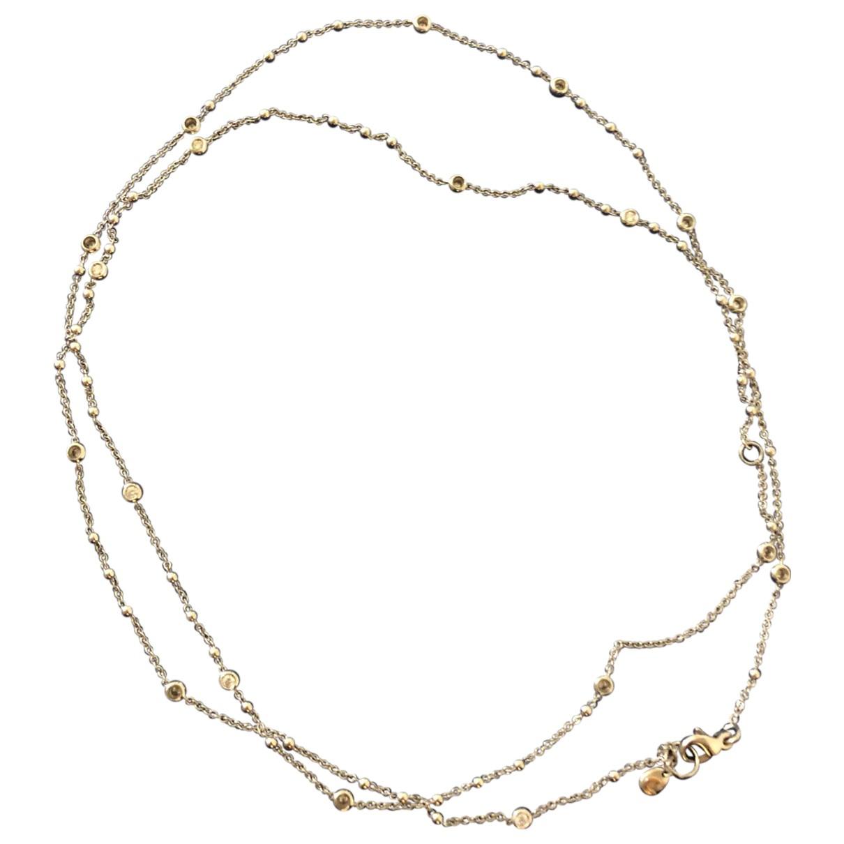 Collar de Oro blanco Crivelli