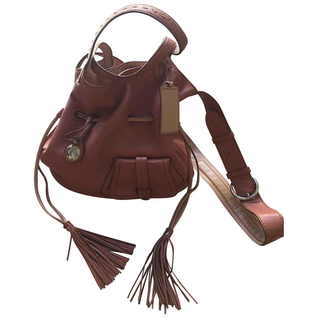 Lancel 1er Flirt Pink Leather handbag for Women \N