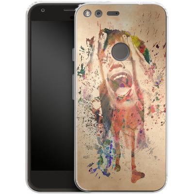 Google Pixel Silikon Handyhuelle - Scream von Mark Ashkenazi
