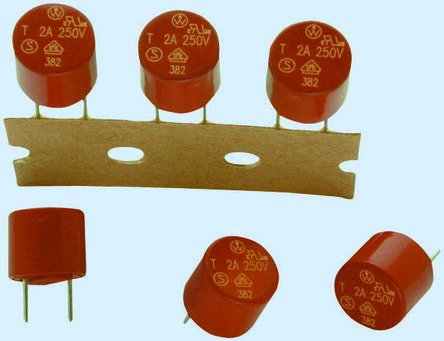 Wickmann 1.25A Radial T Leaded PCB Mount Fuse, 250V ac (10)