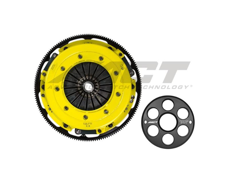ACT T2S-F11 Twin Disc XT Street Clutch Kit Ford Mustang Shelby GT500 07-14