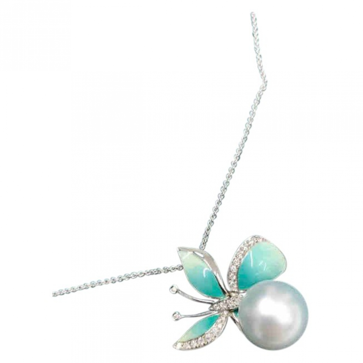 Non Signé / Unsigned \N Turquoise Pearls bracelet for Women \N