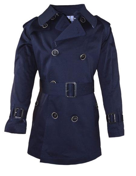 Boys ~ Children ~ Kids Toddler Outerwear Coat Navy