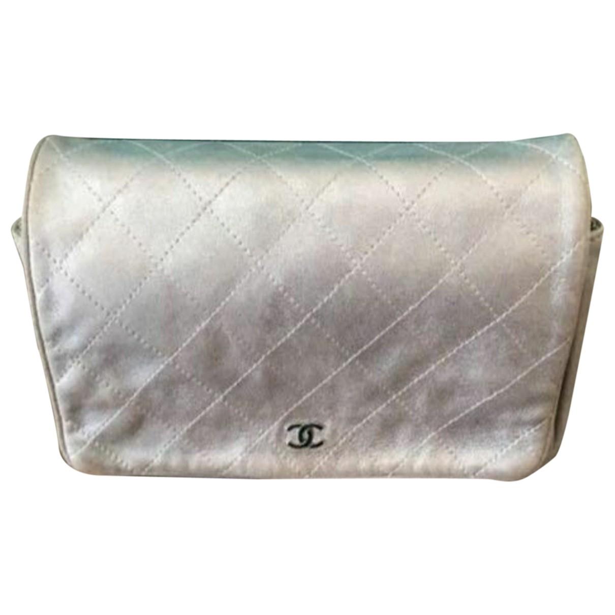 Chanel Wallet on Chain Handtasche in  Metallic Leder