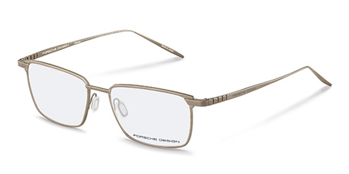 Porsche Design P8360 C Men's Glasses Silver Size 54 - Free Lenses - HSA/FSA Insurance - Blue Light Block Available