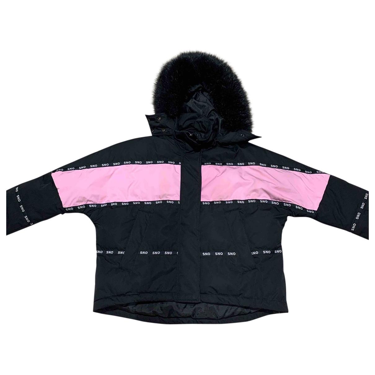 Topshop - Manteau   pour femme - noir