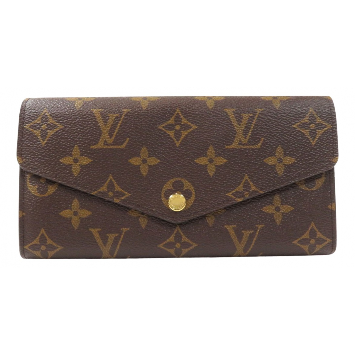 Louis Vuitton Sarah Brown Cloth wallet for Women \N