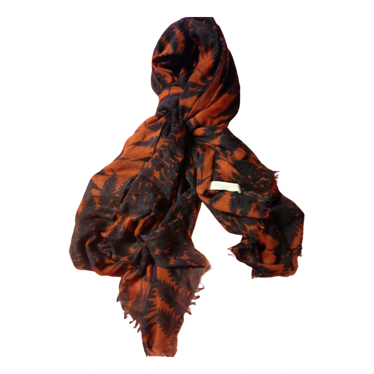 Stella Mccartney N Orange Wool scarf for Women N