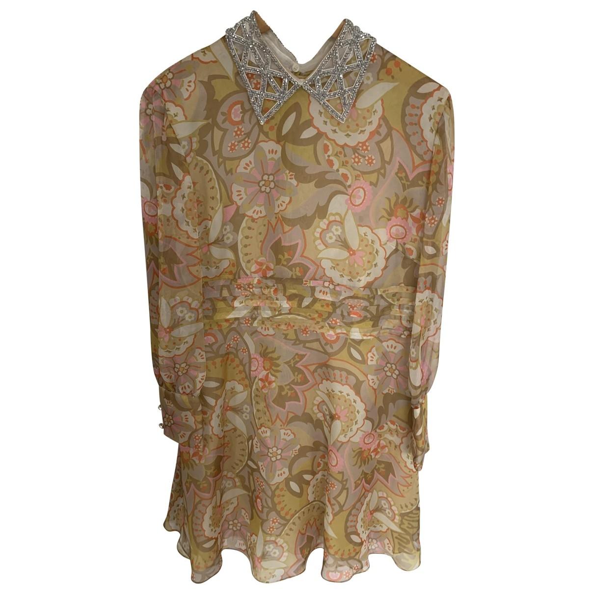 Mini vestido de Seda Miu Miu