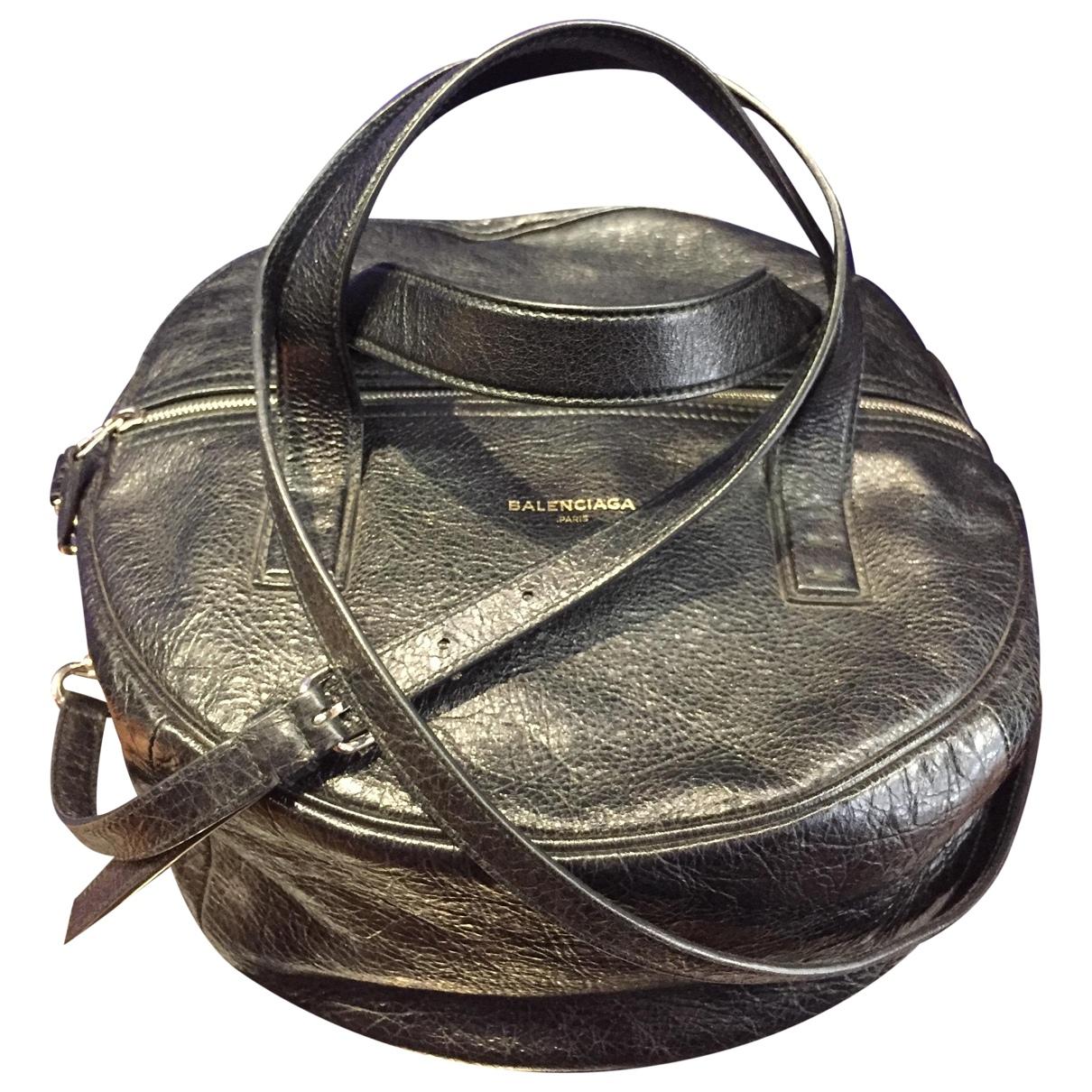 Balenciaga - Sac a main Air Hobo pour femme en cuir - noir